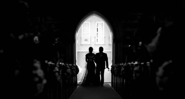 Una especial entrada de la novia a …