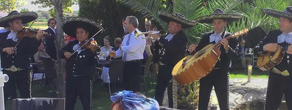 Mariachis para el cóctel de tu boda