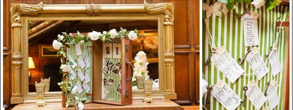 Seating plan para bodas