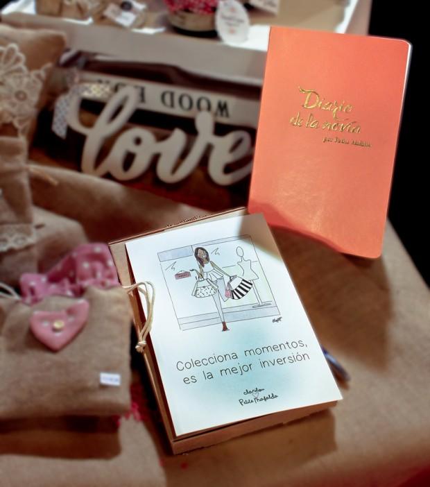 Diario de la novia para regalar 620x702 ¿Qué regalarle a la novia?