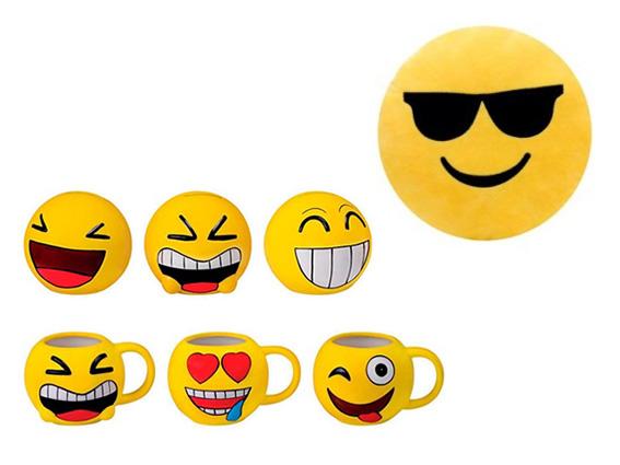 detalles cojin taza hucha Emoticonos: detalles divertidos para los más peques