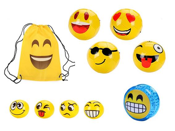 detalles petate balon pelota yoyo Emoticonos: detalles divertidos para los más peques