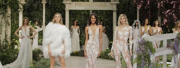 Nueva colección de vestidos nupciales 2019 Pronovias