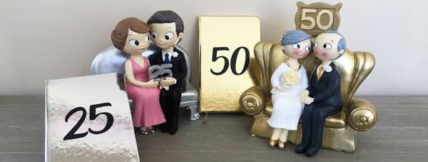 Bodas de plata y bodas de oro