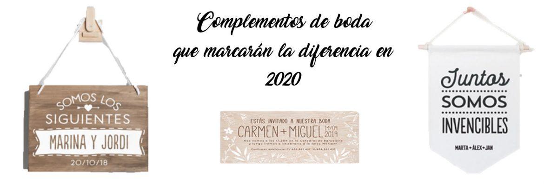 Complementos de Boda que marcarán la diferencia en 2020