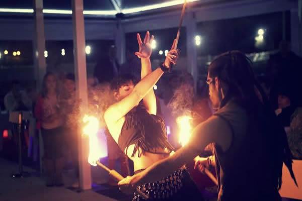 espectaculo de fuego
