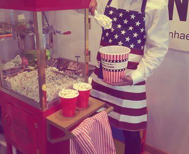 palomitero americano para bodas